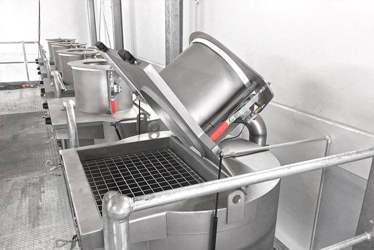 vacuum weighing system technosilos