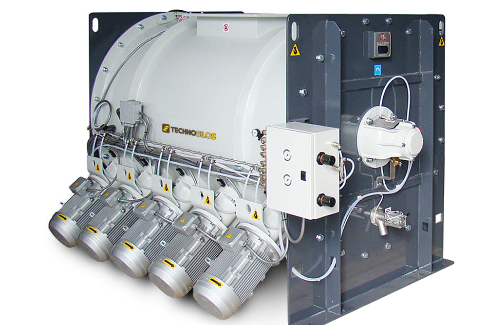 Technologies de Mélange industriel pour les premix et les mélanges prêt à l'emploi